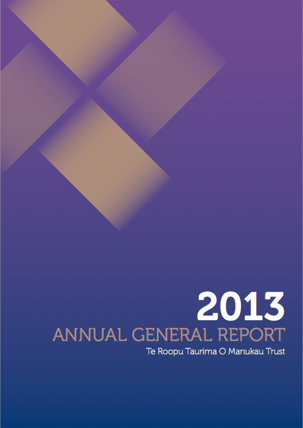 Annual General Report 2013
